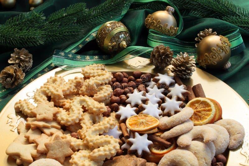 Weihnachtsplätzchen lizenzfreie stockfotos