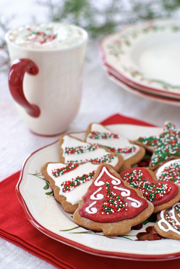 Weihnachtsplätzchen stockbilder
