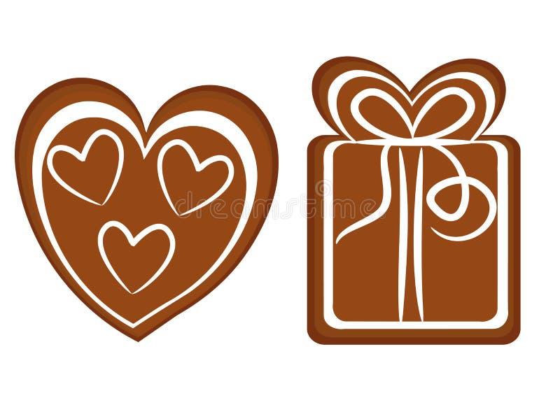 Weihnachtsplätzchen lizenzfreie abbildung