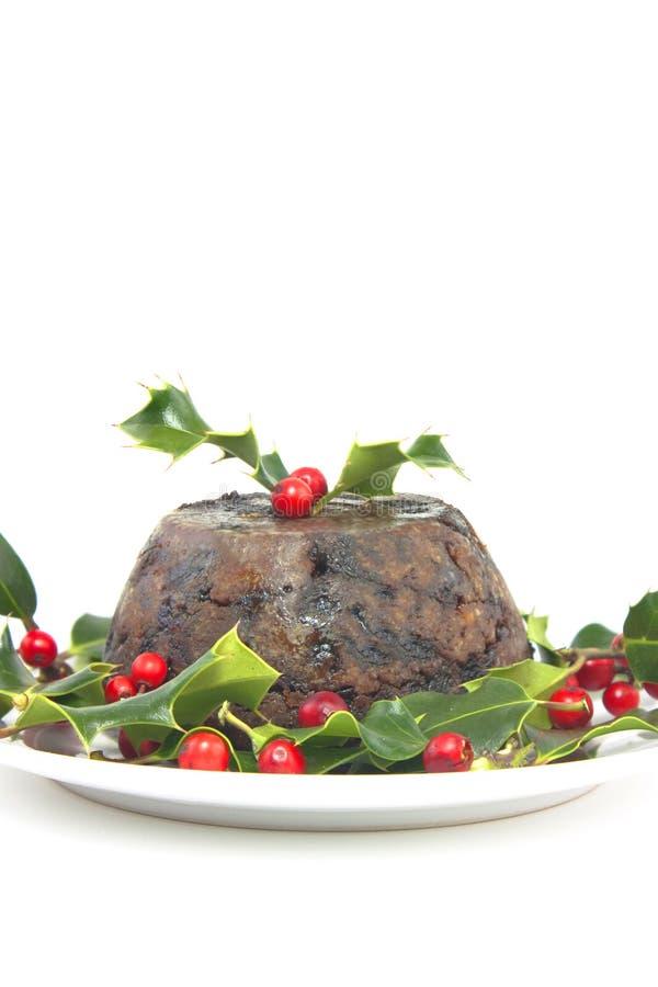 Weihnachtspudding stockbilder