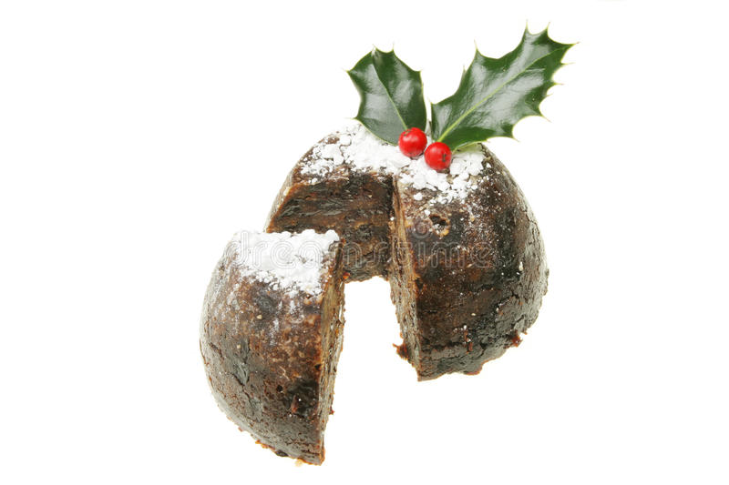 Weihnachtspudding lizenzfreie stockfotografie