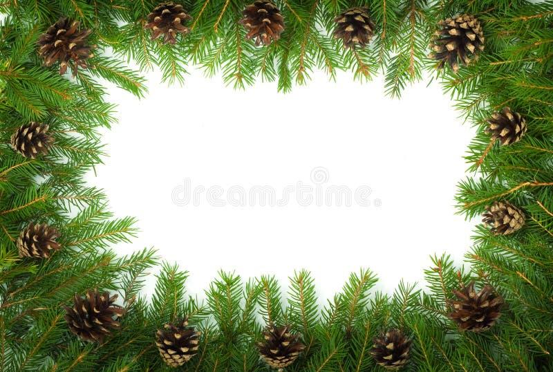 Weihnachtsrahmen lizenzfreies stockbild