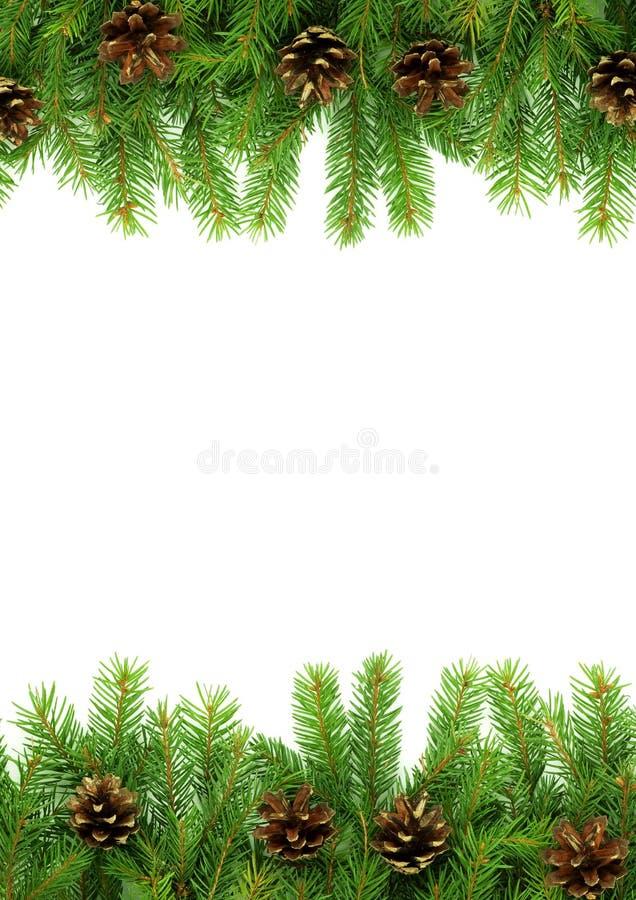 Weihnachtsrahmen lizenzfreie stockfotos