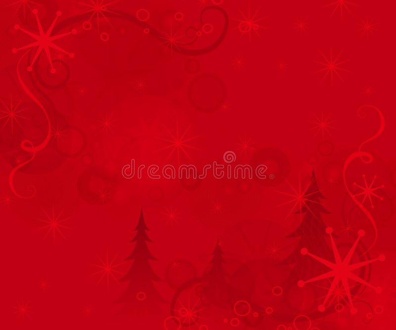 Weihnachtsrot-Hintergrund stock abbildung