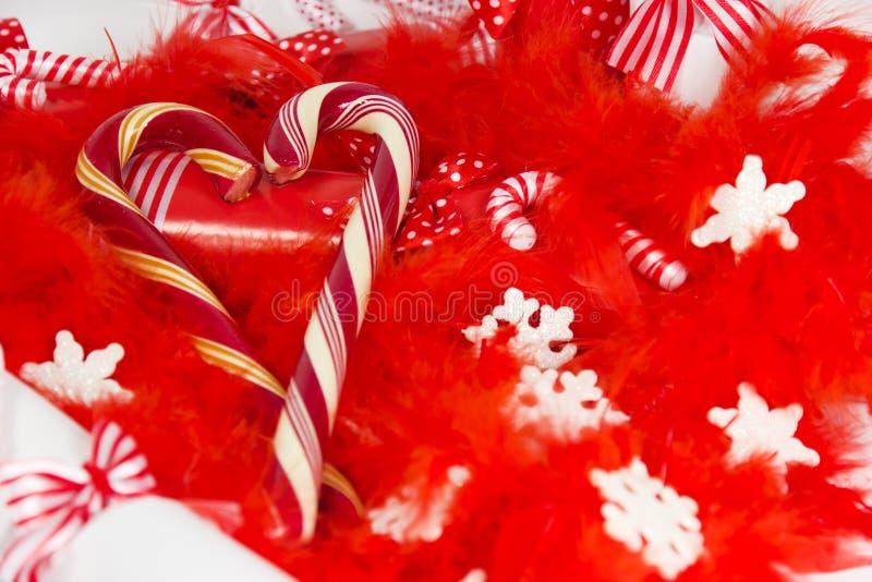 Weihnachtssüßigkeit. lizenzfreies stockbild