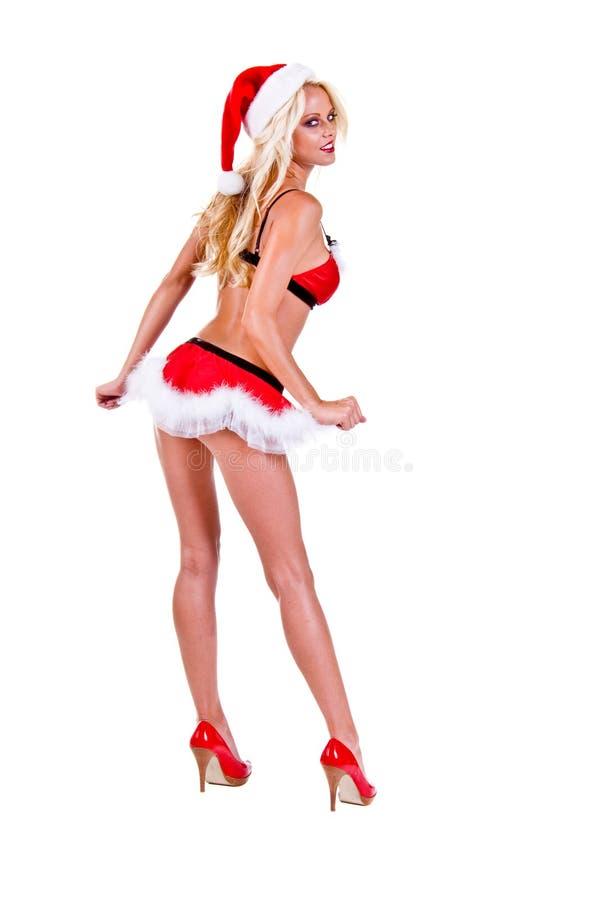 Weihnachtssankt-Helfer stockfotografie