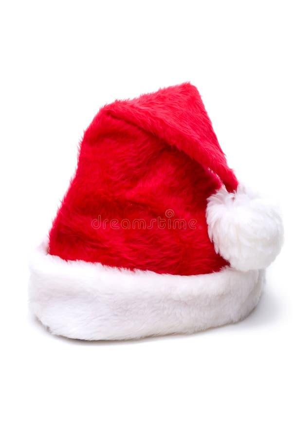 Weihnachtssankt-Hut stockbild