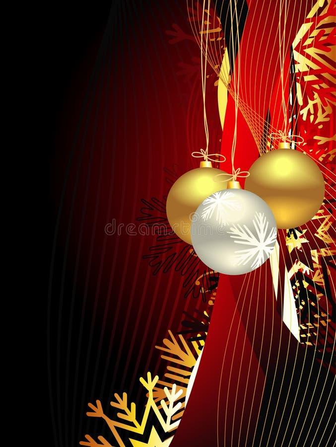 Download Weihnachtsschöner Künstlerischer Hintergrund Vektor Abbildung - Illustration von feld, gold: 12202477