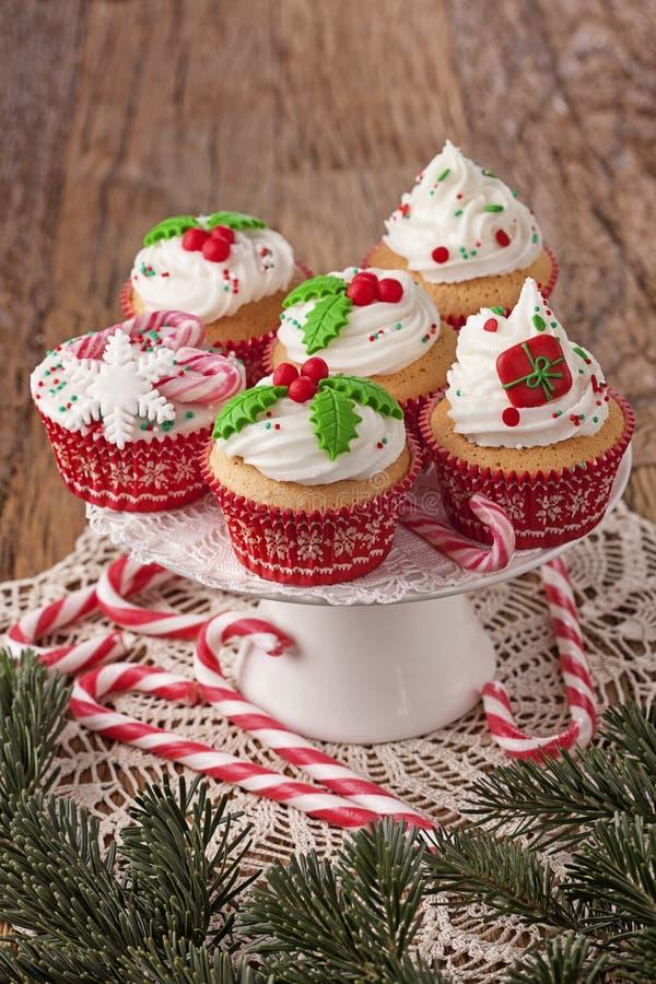 Weihnachtsschalenkuchen stockbilder