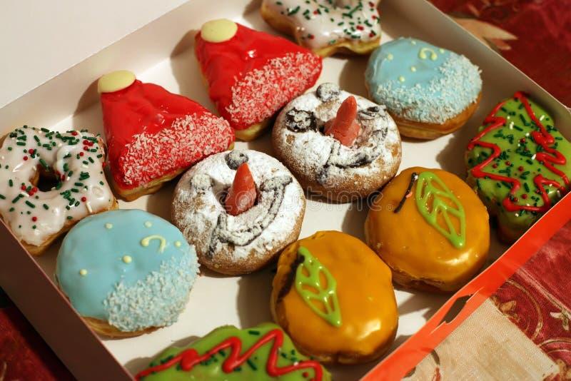 Weihnachtsschaumgummiringe lizenzfreies stockfoto