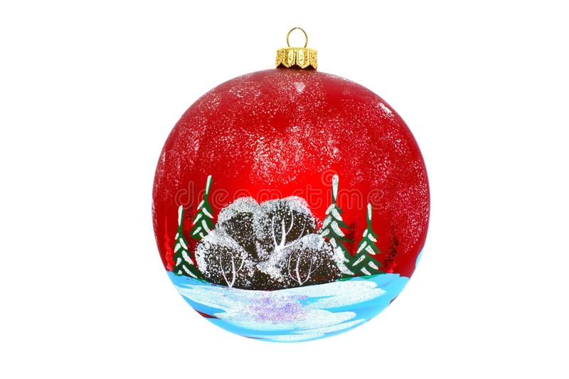 Weihnachtsschmuck Für Einen Baum Des Neuen Jahres Lizenzfreie Stockfotos