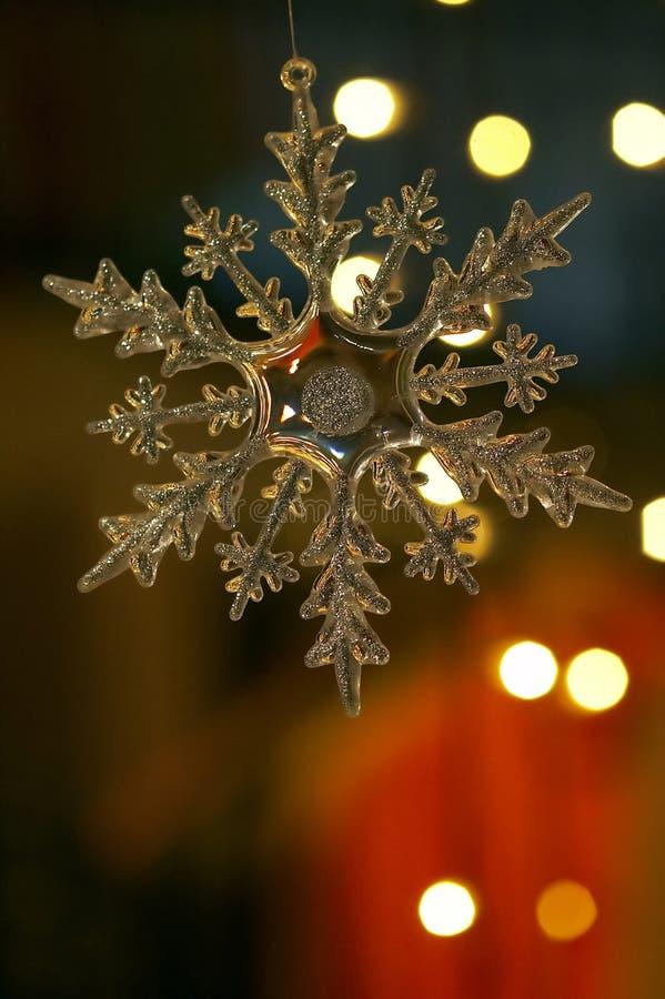 Weihnachtsschneeflocke stockbilder