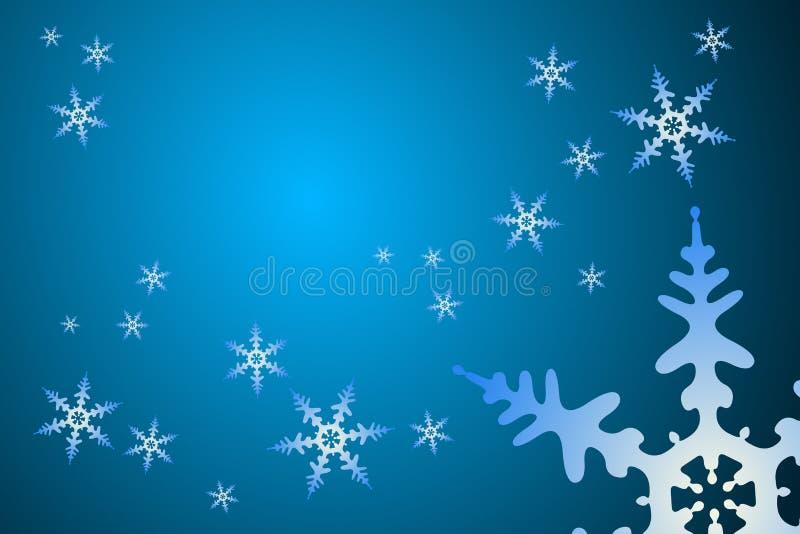 Weihnachtsschneeflocke-Dekoration lizenzfreie abbildung