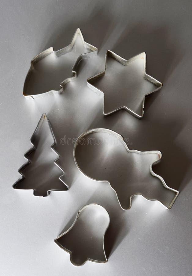 Weihnachtsschneider lizenzfreie stockfotos