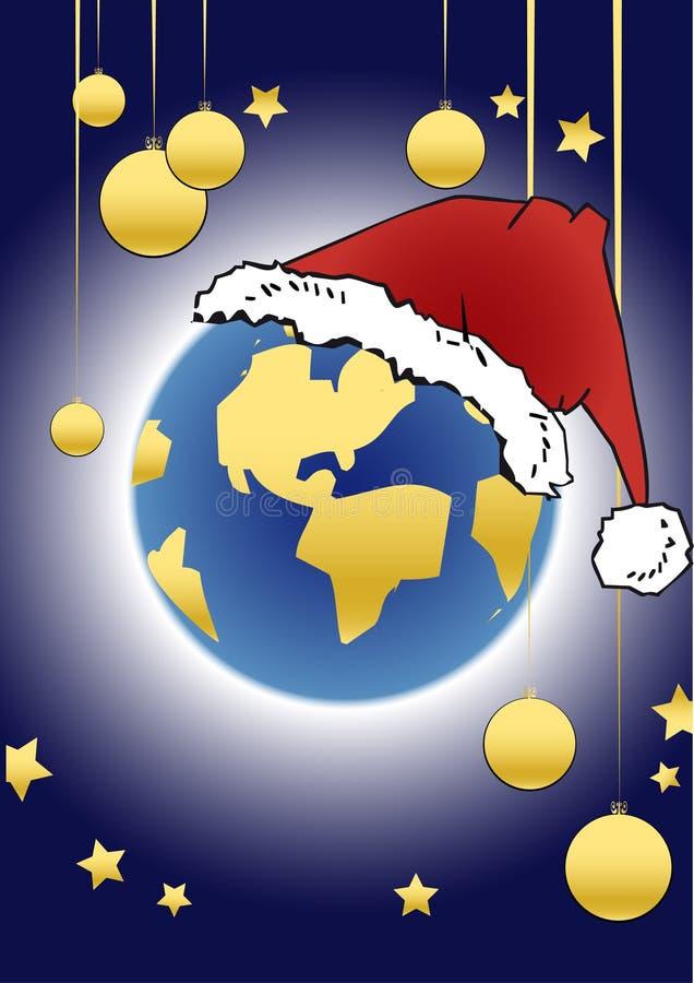 Weihnachtsserie - Kugel stock abbildung