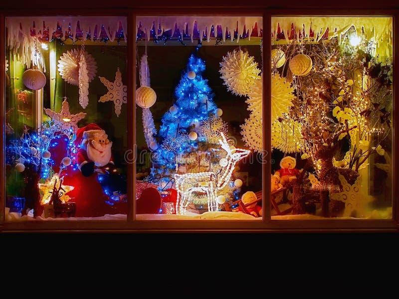 Weihnachtsshop stockfotografie
