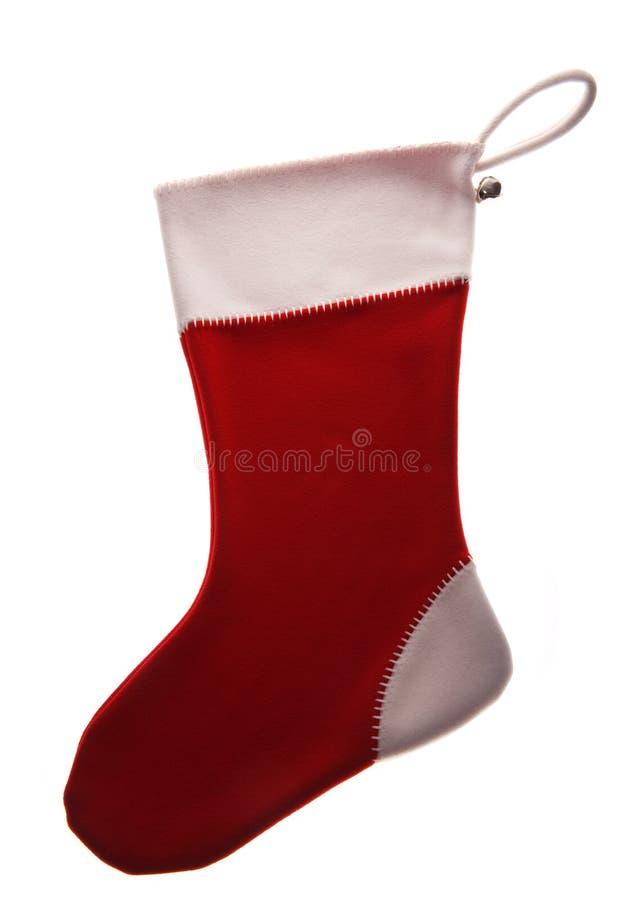 Weihnachtssocke lizenzfreie stockbilder