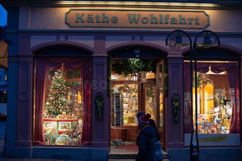 Weihnachtsspeicher Käthe Wohlfahrt lizenzfreies stockbild