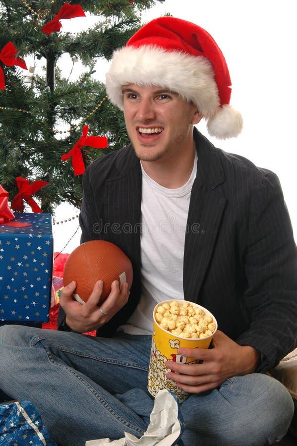 Weihnachtsspiele stockbild