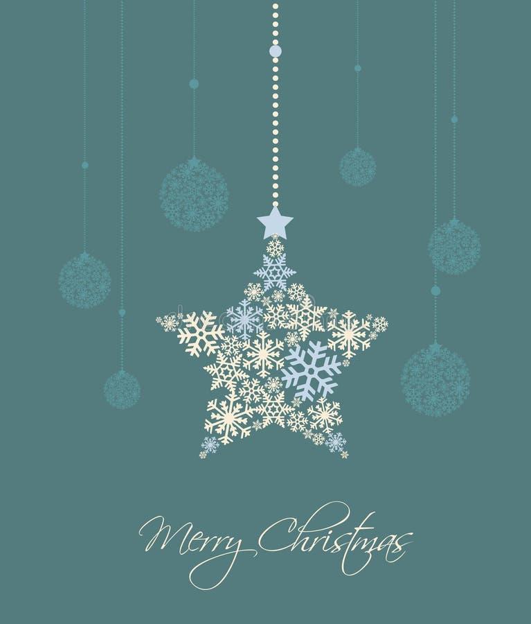 Download Weihnachtsstern vektor abbildung. Illustration von hintergrund - 26353156