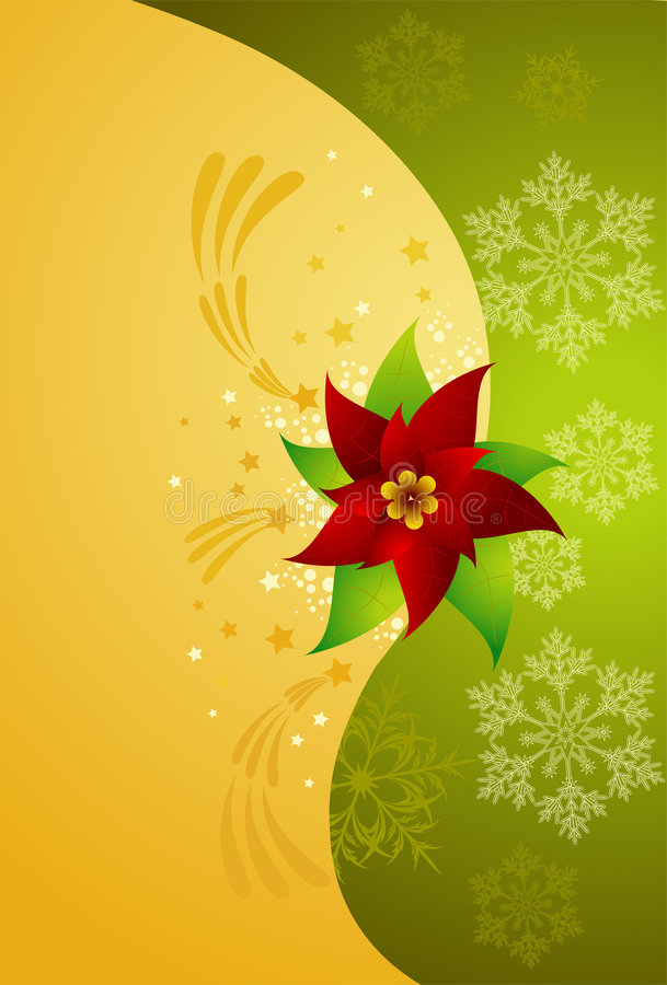Weihnachtsstern vektor abbildung
