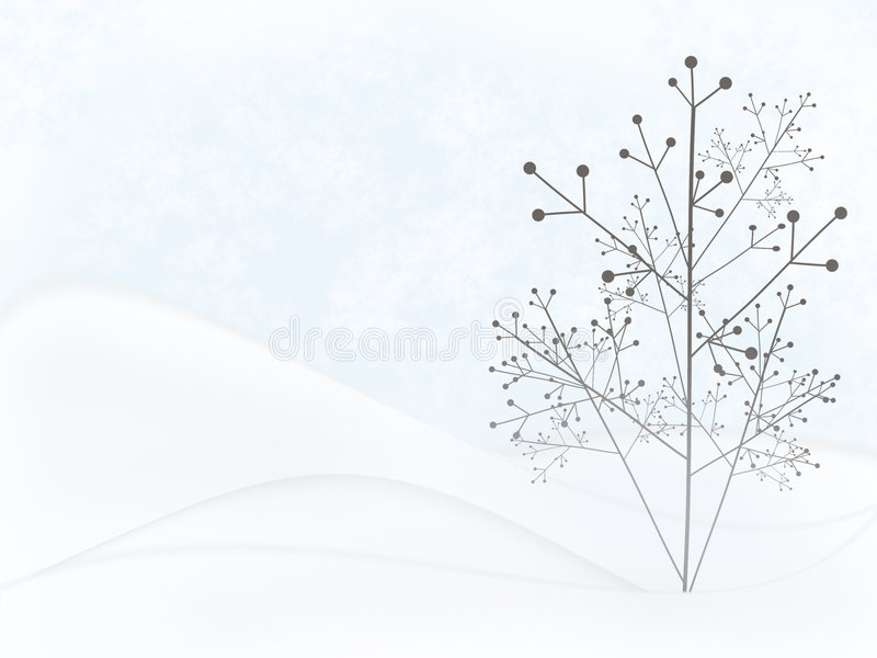 Weihnachtsszene vektor abbildung