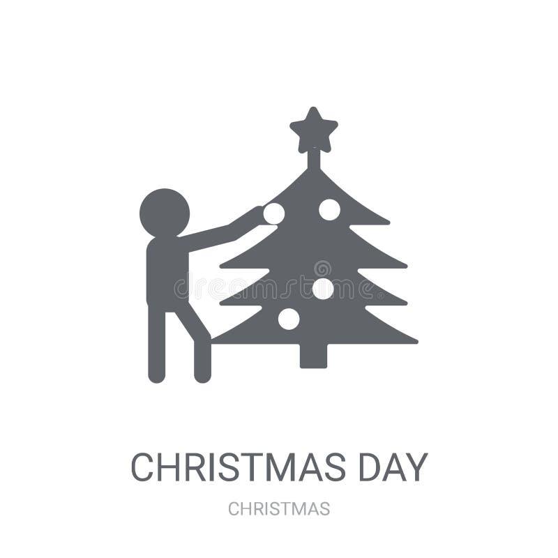 Weihnachtstagesikone  lizenzfreie abbildung