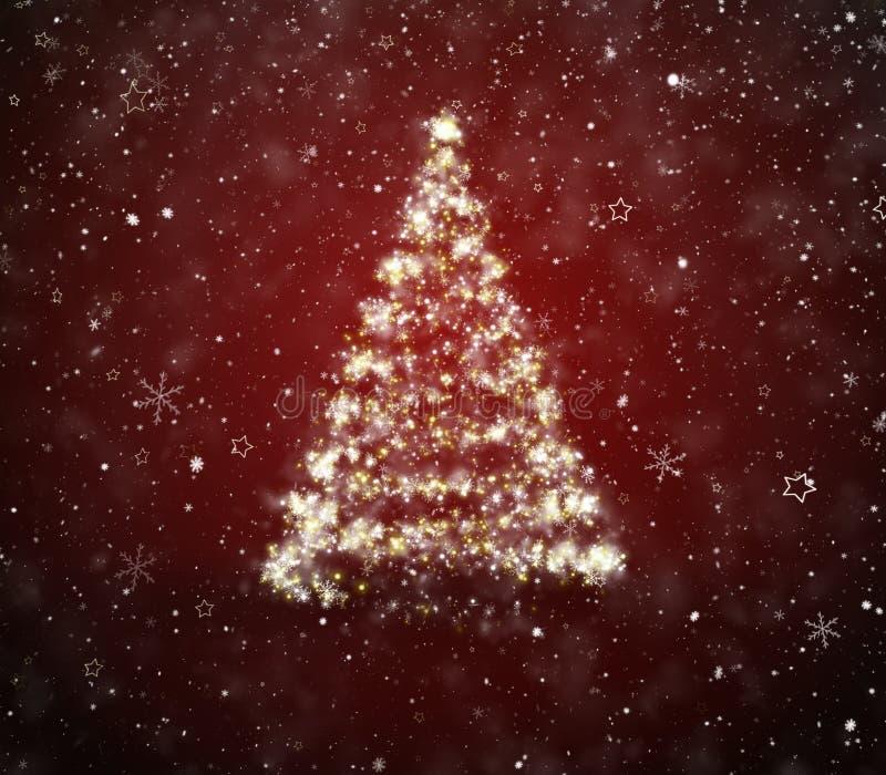 Weihnachtstannenbaum lizenzfreies stockfoto