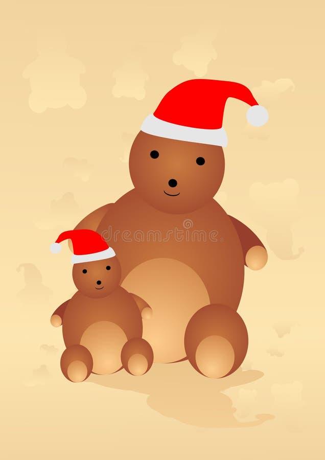 WeihnachtsTeddybär libre illustration