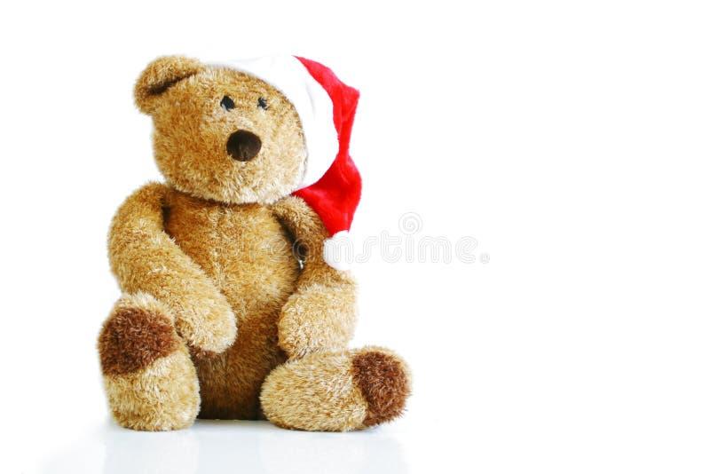 WeihnachtsTeddybär stockbilder
