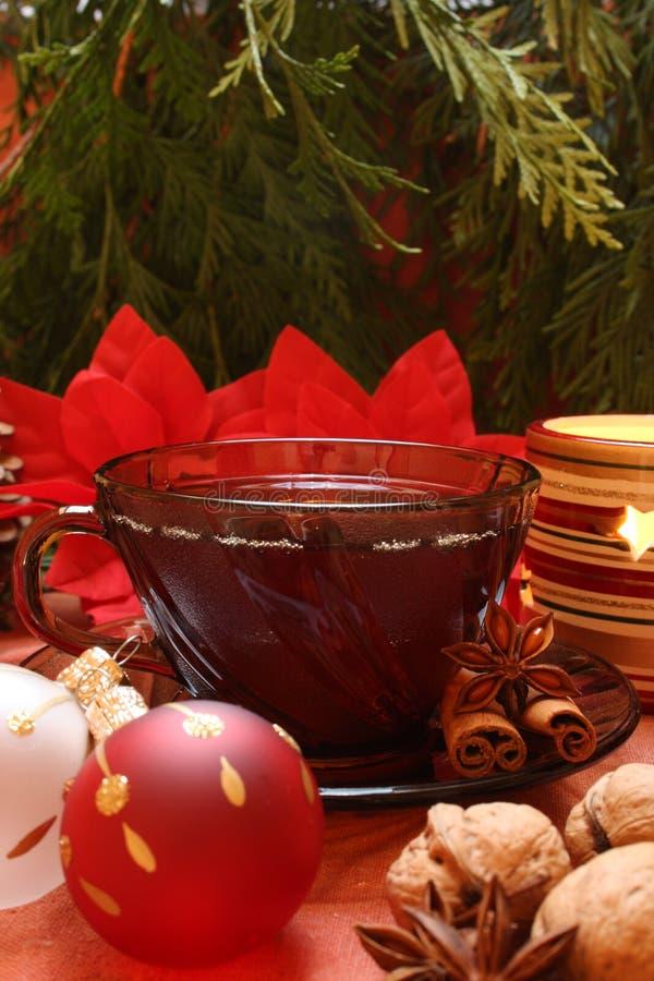 Weihnachtstee lizenzfreie stockfotografie