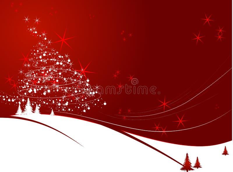Weihnachtsthema stock abbildung