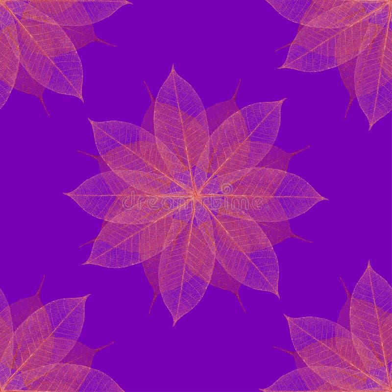 Weihnachtsurlaub-Blumenmuster vektor abbildung