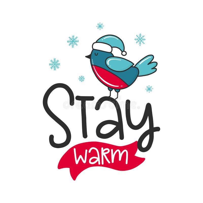 Weihnachtsvektorplakat stock abbildung