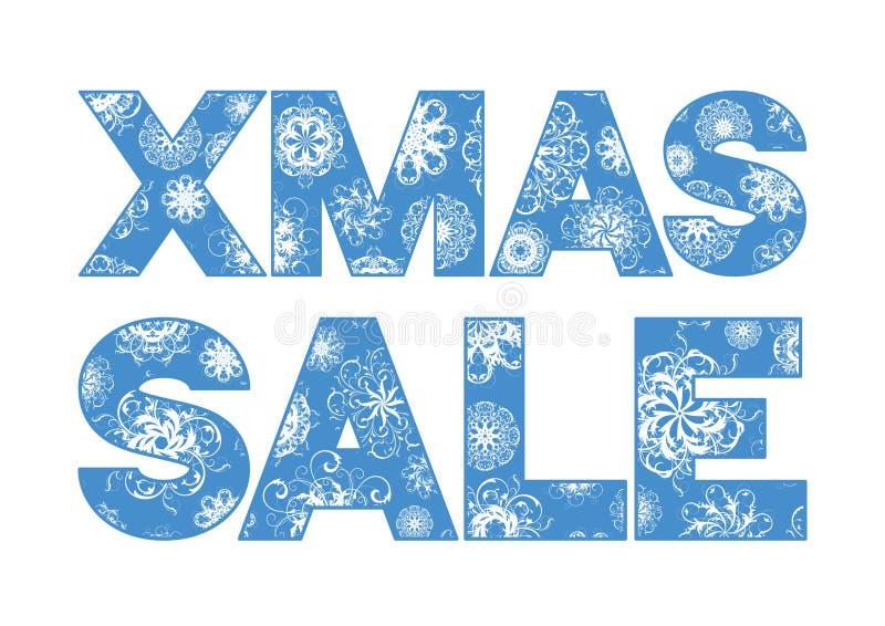 Weihnachtsverkauf lizenzfreie abbildung