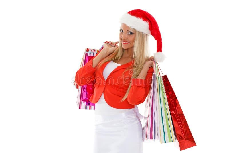 Weihnachtsverkauf. stockbild