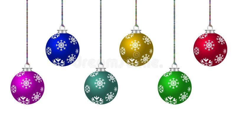 Weihnachtsverzierung vektor abbildung