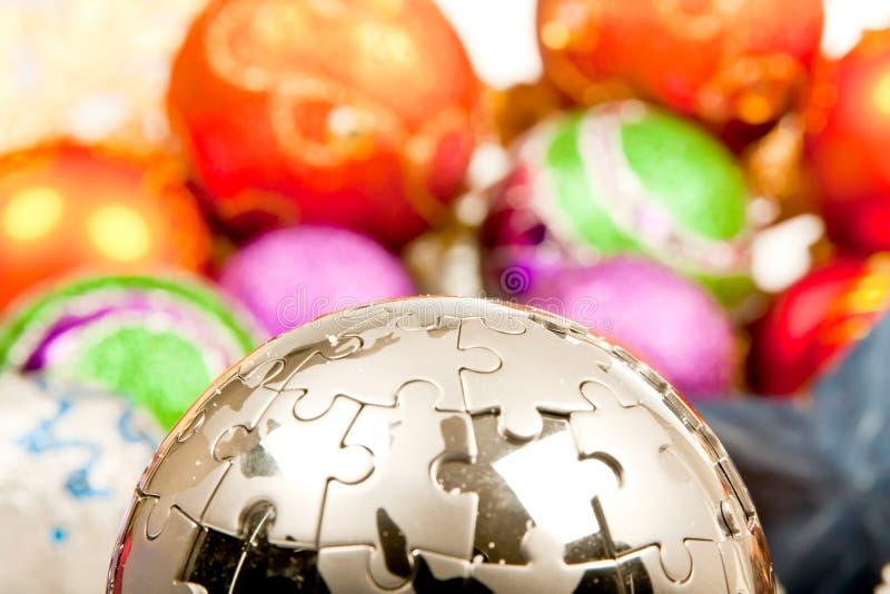 Weihnachtsverzierung-Dekoration-Serie lizenzfreie stockfotos