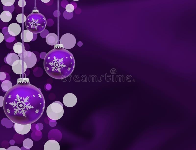 Weihnachtsverzierungen lizenzfreie abbildung