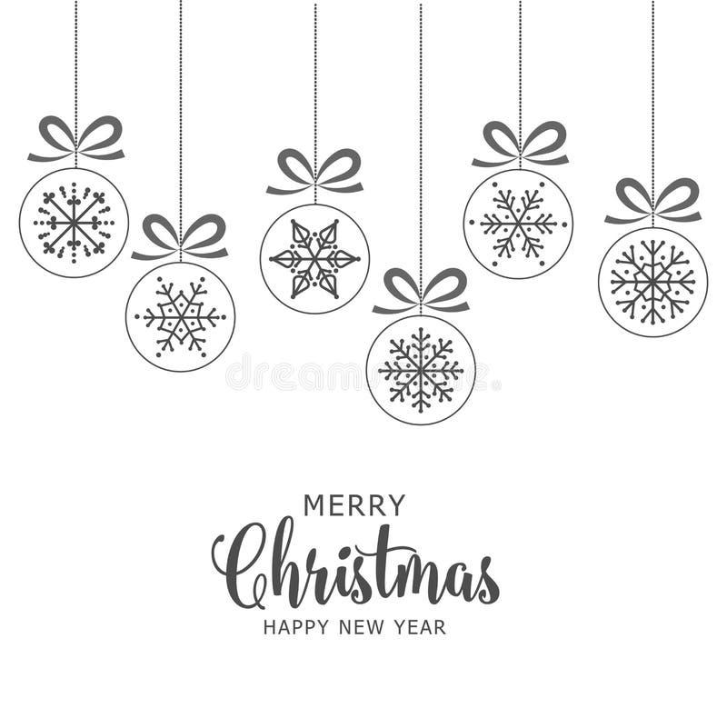 Weihnachtsweißer Hintergrund mit Flitter vektor abbildung