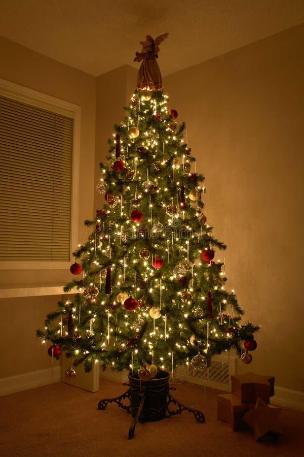 Weihnachtsweihnachtsbaum lizenzfreie stockfotos