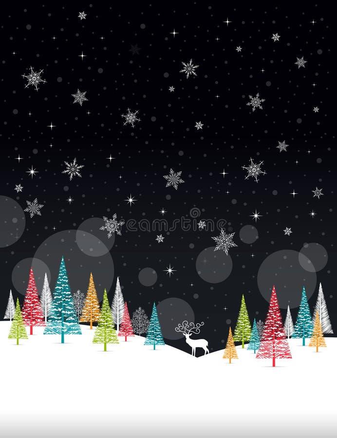 weihnachtswinter rahmen illustration weihnachtswei e. Black Bedroom Furniture Sets. Home Design Ideas