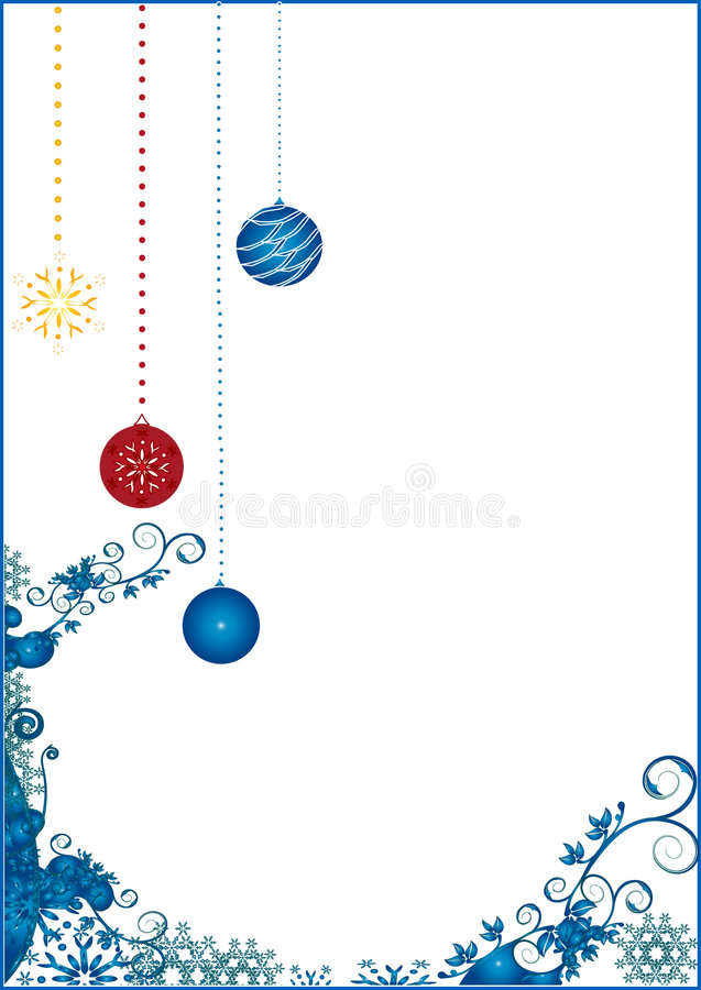 Weihnachtszeit stock abbildung