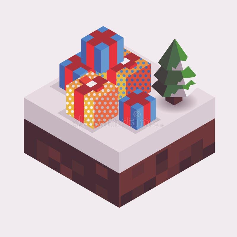 Weihnachtszeit vektor abbildung
