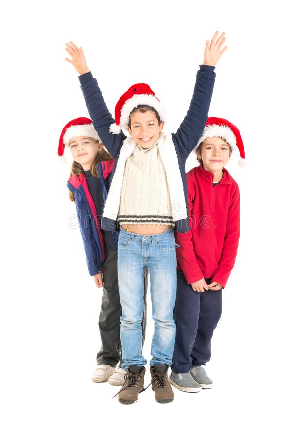 Weihnachtszeit ist- hier lizenzfreies stockbild