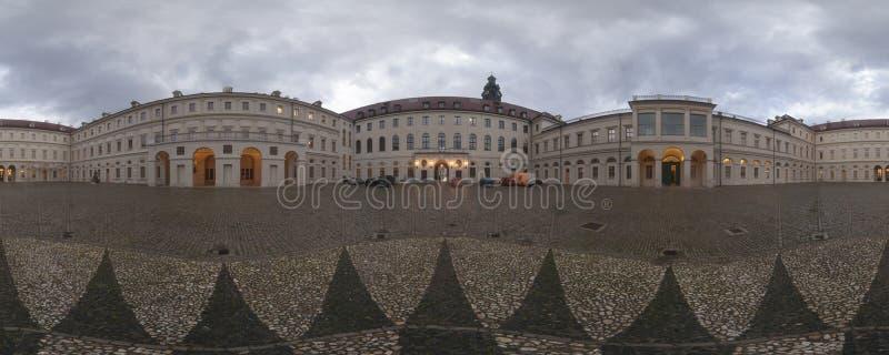 WEIMAR, DEUTSCHLAND - 21. OKTOBER 2008: Schloss des klassischen Weimars, Deutschland lizenzfreie stockfotos