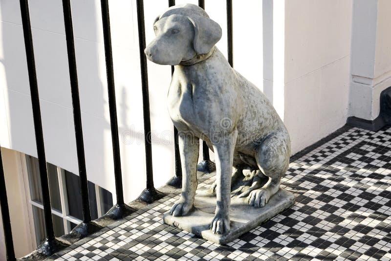 Weimaraner Statue royalty free stock photography