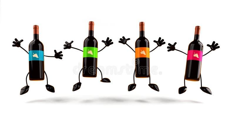 Wein vektor abbildung