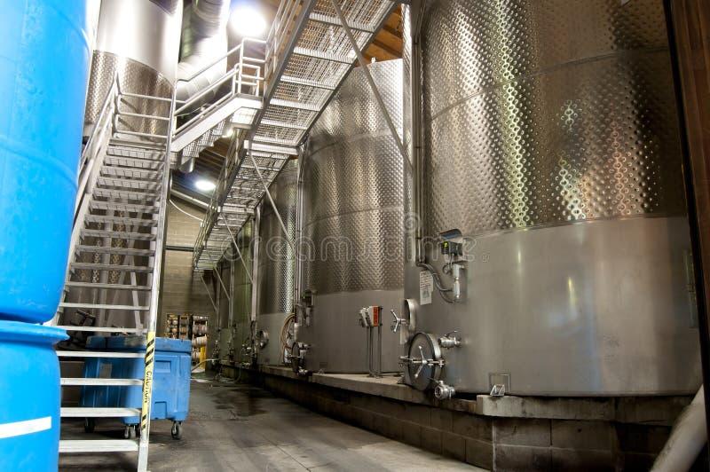 Wein-Bottiche stockbilder