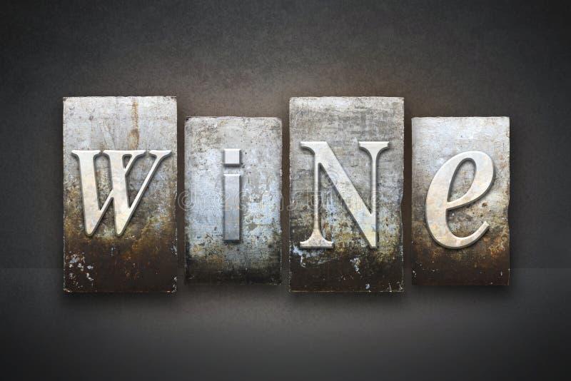 Wein-Briefbeschwerer lizenzfreie stockfotografie